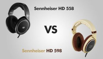 Sennheiser HD 558 vs HD 598