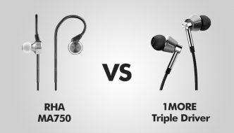 RHA MA750 vs 1MORE triple driver