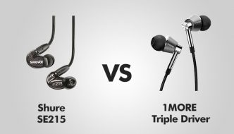 Shure SE215 vs 1MORE Triple Driver