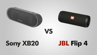 Sony XB20 vs JBL Flip 4