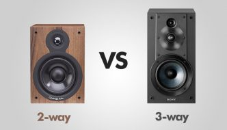 2-way vs 3-way speakers