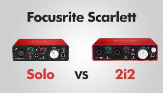 Focusrite Solo vs 2i2