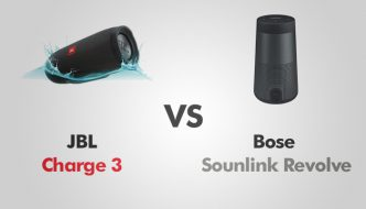JBL Charge 3 vs Bose Soundlink Revolve