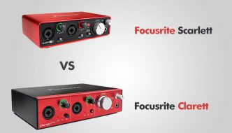 Focusrite Scarlett vs Clarett – how do they differ?