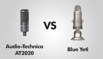 Audio-Technica AT2020 vs Blue Yeti