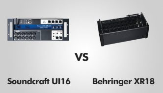 Soundcraft UI16 vs Behringer XR18