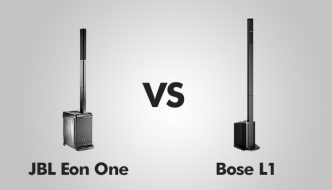 JBL Eon One vs Bose L1