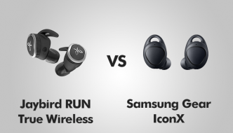 Jaybird Run Wireless vs Samsung Gear IconX