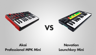 Akai Professional MPK Mini vs Novation Launchkey Mini
