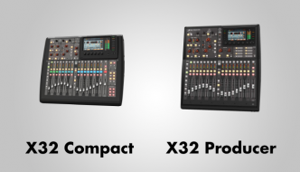 Behringer X32 Compact vs X32 Producer