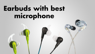 Earbuds with best microphone