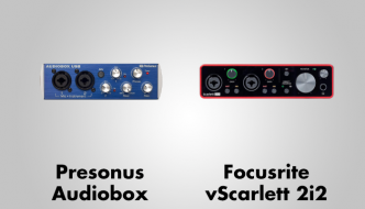 Presonus Audiobox vs Focusrite Scarlett 2i2