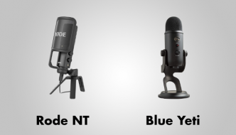Rode NT vs Blue Yeti
